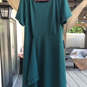 Sharagano Dress in Ponderosa Pine